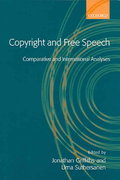 Copyright and Free Speech 0 9780199276042 0199276048