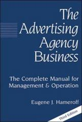 The Advertising Agency Business 1st edition 9780844231693 084423169X