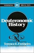 Deuteronomic History 1st Edition 9780687104970 0687104971