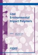 Low Environmental Impact Polymers 0 9781859573846 1859573843