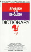 Bantam New College Spanish/English Dictionary 1st Edition 9780553267143 0553267140