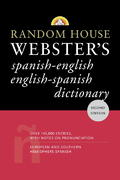 Random House Webster's Spanish-English English-Spanish Dictionary 2nd edition 9780375721960 0375721967