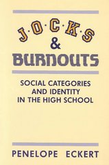 Jocks and Burnouts 1st Edition 9780807729632 0807729639