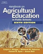Handbook on Agricultural Education in Public Schools 1st edition 9781418039936 1418039934