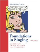 Foundations in Singing w/ Keyboard fold-out 8th Edition 9780073212753 007321275X