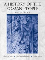 A History of the Roman People 4th edition 9780130384805 0130384801