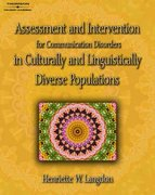Assessment & Intervention for Communication Disorders in Culturally & Linguistically Diverse Populations 1st Edition 9781418001391 1418001392