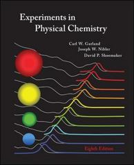 Experiments in Physical Chemistry 8th edition 9780072828429 0072828420