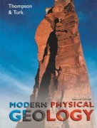 Modern Physical Geology 2nd edition 9780030052224 003005222X