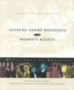 Supreme Court Decisions and Women's Rights 1st edition 9781568026145 1568026145