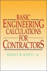 Basic Engineering Calculations for Contractors 1st edition 9780070180024 0070180024
