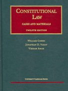 Constitutional Law 12th edition 9781587788819 1587788810