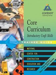 Core Curriculum Introductory Craft Skills 0 9780131091870 0131091875