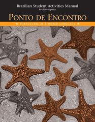 Brazilian Activities Manual for Ponto de Encontro 1st edition 9780131894082 0131894080