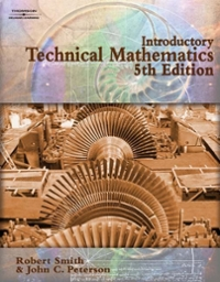 Introductory Technical Mathematics 5th Edition 9781418015435 1418015431