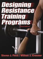 Designing Resistance Training Programs 3rd edition 9780736042574 0736042571