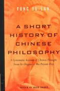 A Short History of Chinese Philosophy 1st Edition 9780684836348 0684836343
