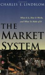 The Market System 1st Edition 9780300093346 0300093349