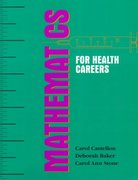 Mathematics for Health Careers 1st Edition 9780827355699 0827355696