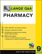Lange Q&A: Pharmacy, Ninth Edition 9th edition 9780071484459 0071484450