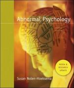 Abnormal Psychology Media and Research Update with MindMap CD 4th edition 9780077236397 0077236394