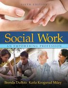Social Work 6th edition 9780205504831 0205504833