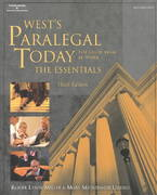 Paralegal Today 3rd edition 9781401824297 1401824293