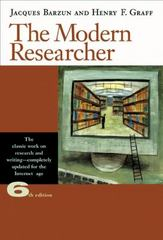 The Modern Researcher 6th edition 9780495318705 0495318701