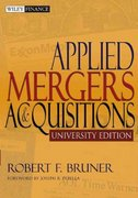 Applied Mergers and Acquisitions, University Edition 1st Edition 9780471395348 047139534X