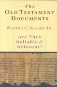 The Old Testament Documents 0 9780830819751 0830819754