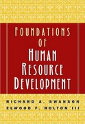 Foundations of Human Resource Development 1st edition 9781576750759 1576750752