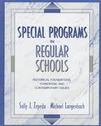 Special Programs in Regular Schools 1st edition 9780205262052 0205262058