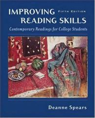 Improving Reading Skills 5th edition 9780072830705 0072830700