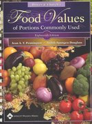 Bowes and Church's Food Values of Portions Commonly Used (Bowes & Church's Food Values of Portions Commonly Used) Plastic Comb 18th Edition 9780781744294 0781744296