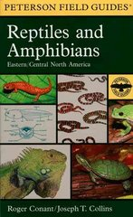 A Field Guide to Reptiles and Amphibians 3rd edition 9780395904527 0395904528