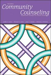 Community Counseling 3rd edition 9780534506261 0534506267