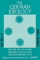 The German Ideology 1st Edition 9780717803026 0717803023