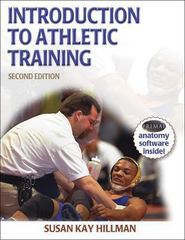 Introduction to Athletic Training 2nd edition 9780736052924 0736052925