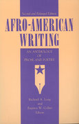 Afro-American Writing 2nd Edition 9780271003764 0271003766