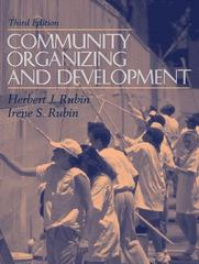 Community Organizing and Development 3rd edition 9780205261161 0205261167