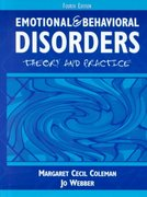 Emotional and Behavioral Disorders 4th Edition 9780205322091 0205322093