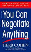 You Can Negotiate Anything 1st Edition 9780553281095 0553281097