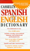 Cassell's Spanish and English Dictionary 1st Edition 9780020136903 0020136900