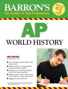 Barron's AP World History 3rd edition 9780764138225 0764138227