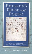 Emerson's Prose and Poetry 0 9780393967920 0393967921