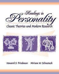 Readings in Personality 1st edition 9780205321490 0205321496