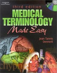 Medical Terminology Made Easy 3rd edition 9780766826731 0766826732