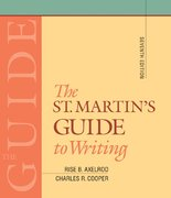The St. Martin's Guide to Writing: Short 7th edition 9780312400538 0312400535