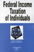 Federal Income Taxation of Individuals in a Nutshell 7th edition 9780314152701 0314152709