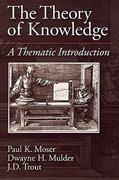 The Theory of Knowledge 1st Edition 9780195094664 0195094662